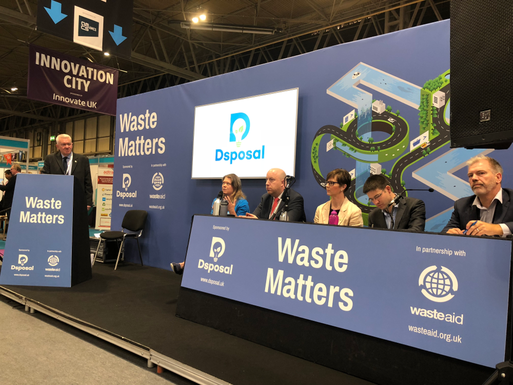 Photograph Waste Matters Seminar Hall at RWM 2018 Panel Discussion