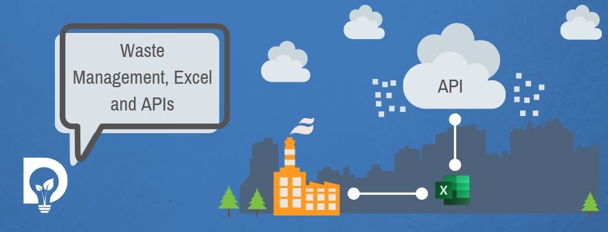 Waste Management Company Excel Logo APIs in the Cloud Banner